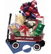 Radio Flyer Wagon Gift Basket